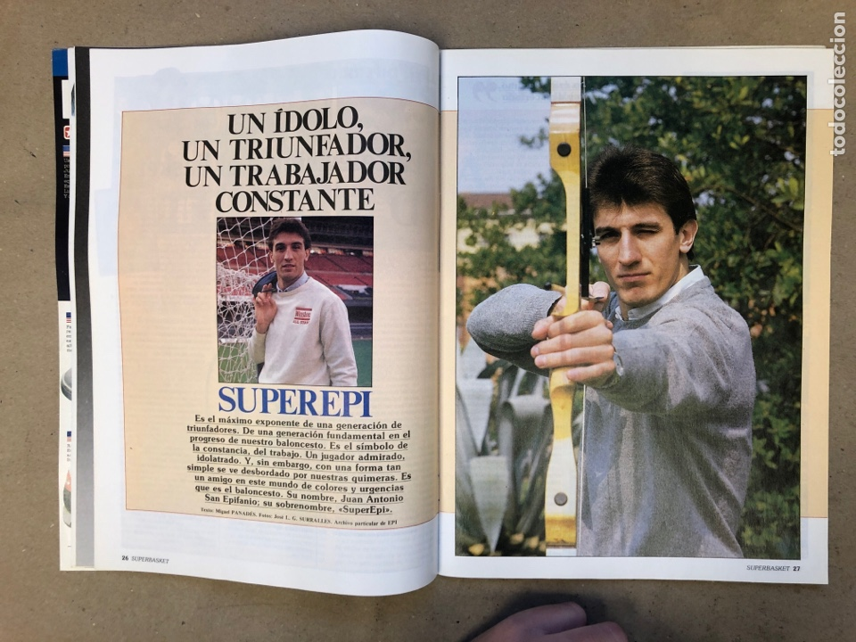 Coleccionismo deportivo: SUPERBASKET N° 2 (1986). ABDUL JABBAR, EPI, CELTICS - LAKERS, LOS MARGALL, POSTER GIGANTE KAREEM AB - Foto 4 - 149476010