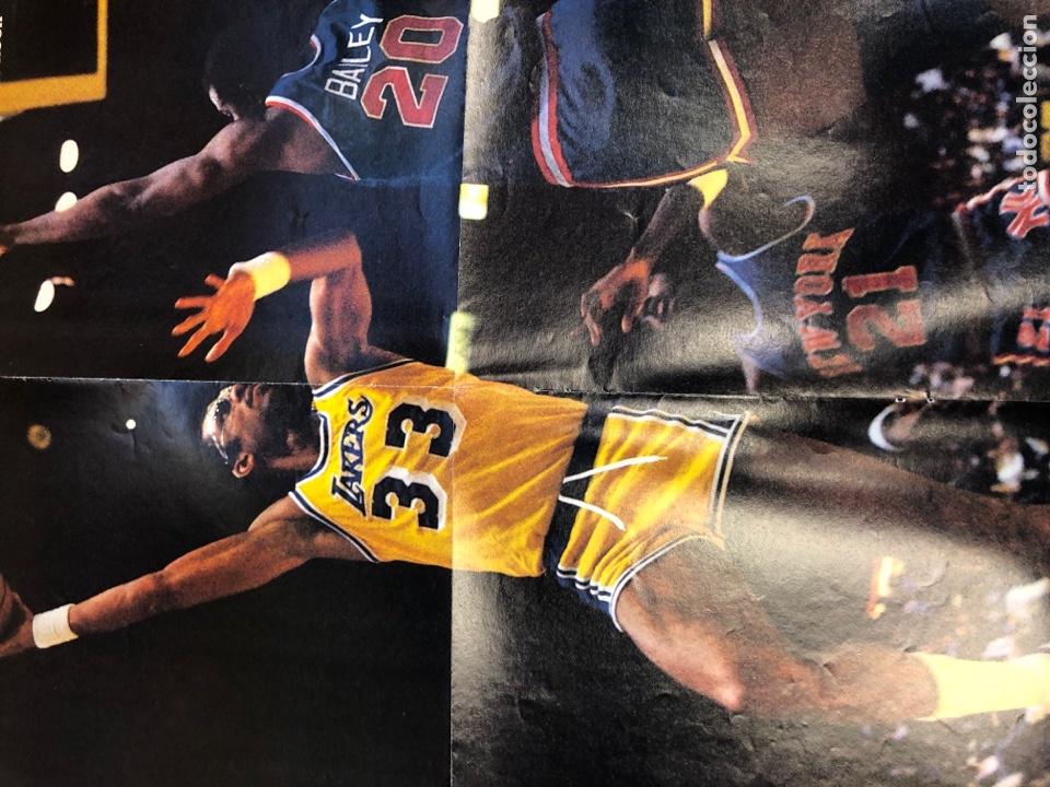 Coleccionismo deportivo: SUPERBASKET N° 2 (1986). ABDUL JABBAR, EPI, CELTICS - LAKERS, LOS MARGALL, POSTER GIGANTE KAREEM AB - Foto 6 - 149476010