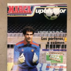 Coleccionismo deportivo: MARCA SUPERCOLOR N° 17 (1986). PORTEROS DE LA LIGA A EXAMEN, POSTER REAL BETIS, PROST VS MANSELL, DU. Lote 149479833