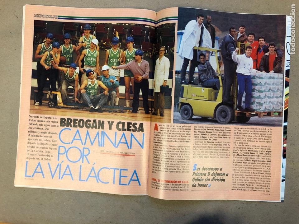 Coleccionismo deportivo: ESTRELLAS DEL BASKET N° 14 (1988). NBA RESUMEN DEL AÑO, MAGIC JOHNSON NÚMERO 1, ESPECIAL GALICIA - Foto 8 - 149485264