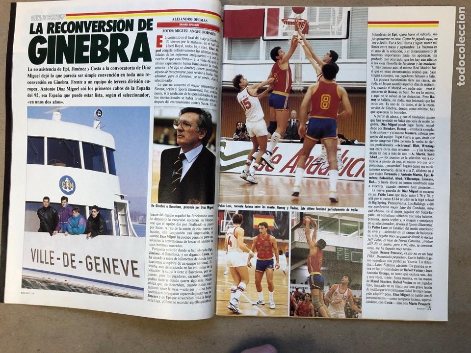 Coleccionismo deportivo: BASKET 16 N° 61 (1988). ESPECIAL NCAA, PETROVIC, MAGIC LLORA POR BIRD,.,, - Foto 3 - 149490125