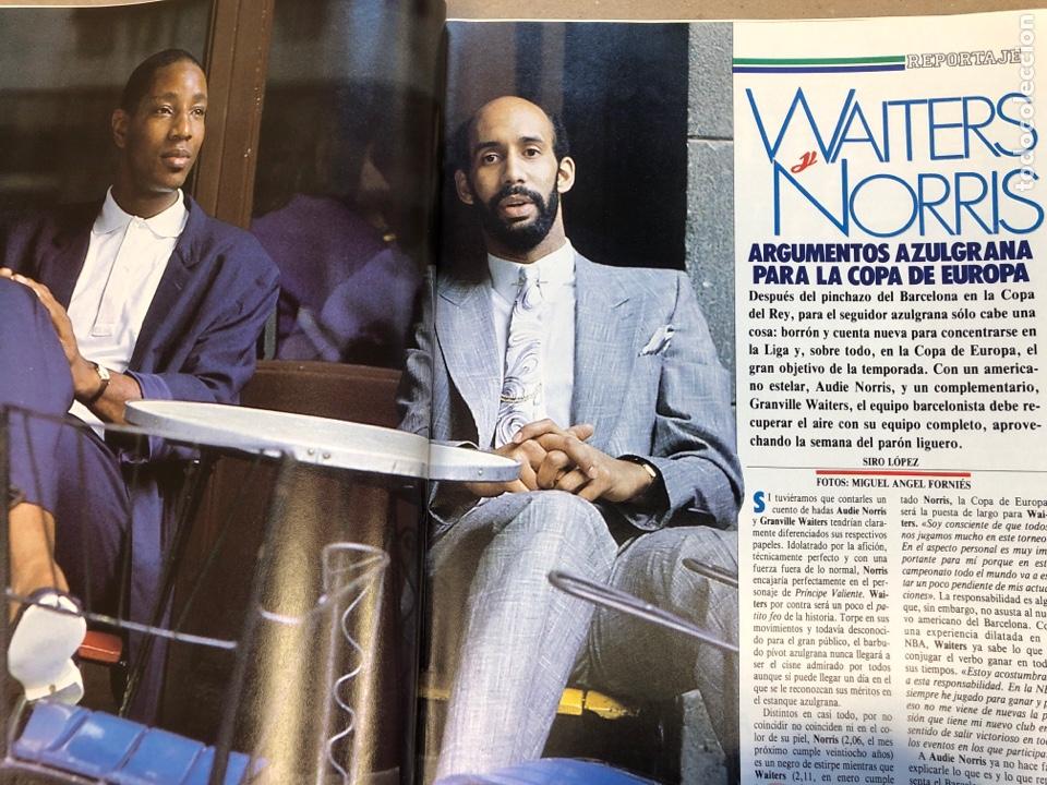 Coleccionismo deportivo: BASKET 16 N° 61 (1988). ESPECIAL NCAA, PETROVIC, MAGIC LLORA POR BIRD,.,, - Foto 5 - 149490125