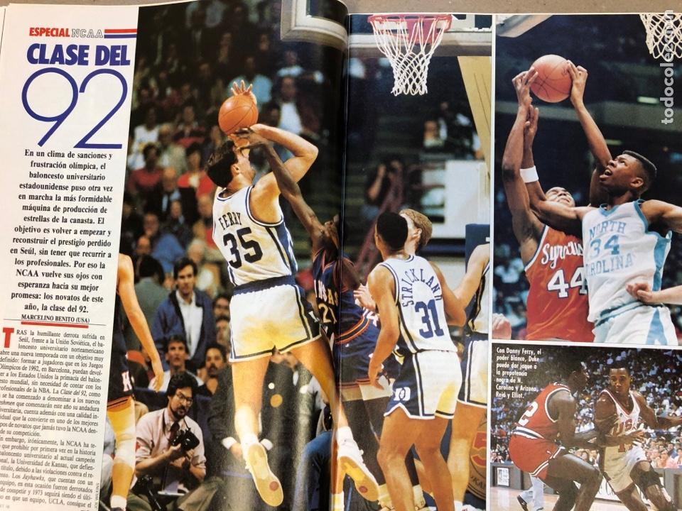 Coleccionismo deportivo: BASKET 16 N° 61 (1988). ESPECIAL NCAA, PETROVIC, MAGIC LLORA POR BIRD,.,, - Foto 6 - 149490125