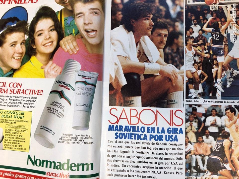Coleccionismo deportivo: BASKET 16 N° 61 (1988). ESPECIAL NCAA, PETROVIC, MAGIC LLORA POR BIRD,.,, - Foto 8 - 149490125