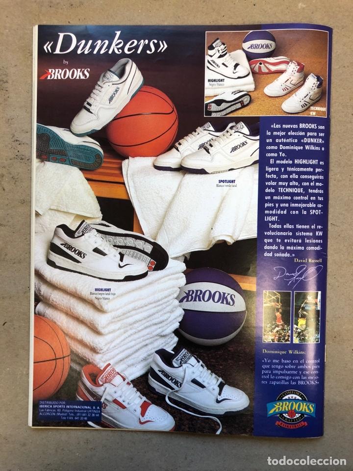 Coleccionismo deportivo: BASKET 16 N° 61 (1988). ESPECIAL NCAA, PETROVIC, MAGIC LLORA POR BIRD,.,, - Foto 10 - 149490125