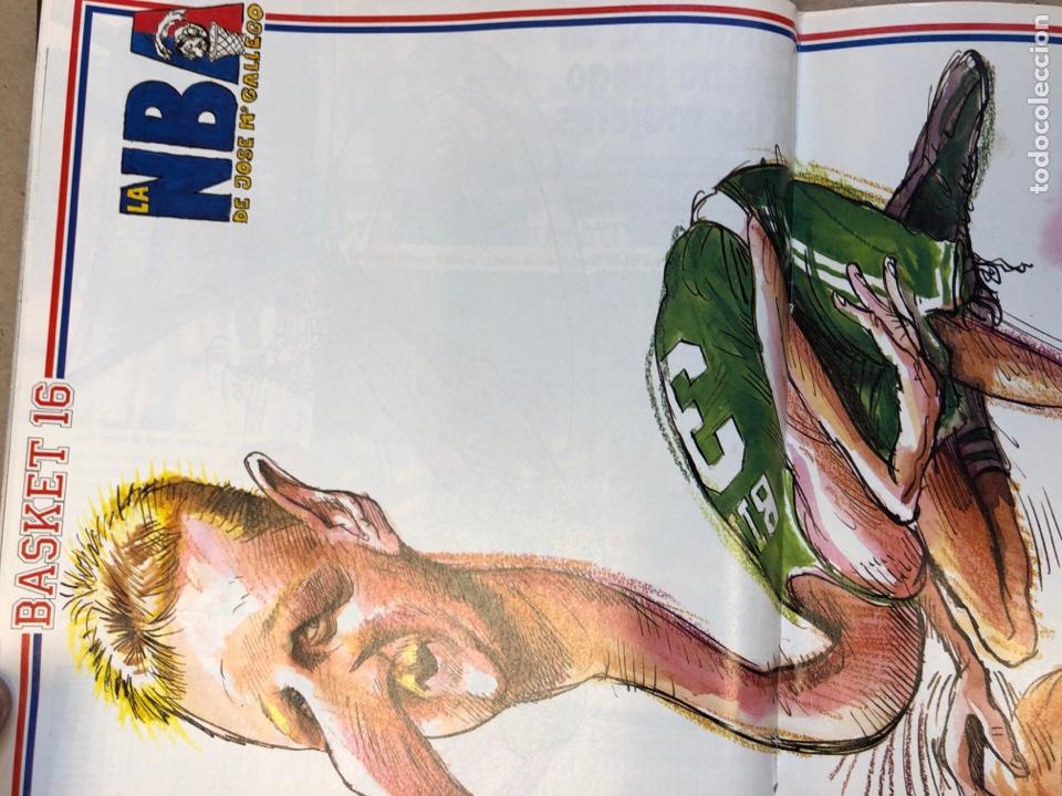 Coleccionismo deportivo: BASKET 16 N° 64 (1988). POSTER LARRY BIRD SEGÚN GALLEGO, NBA ISIAH VS WILKINS,.. - Foto 3 - 149491666