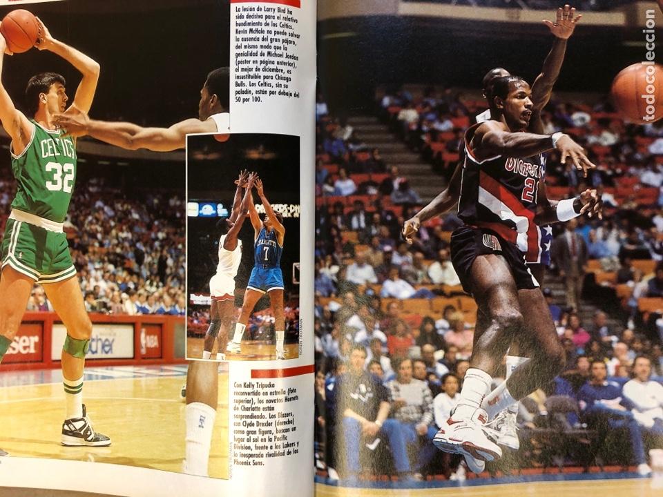 Coleccionismo deportivo: BASKET 16 N° 68 (1989). POSTERS MICHEL JORDAN Y MOSES MALONE SEGÚN GALLEGO, NORRIS,... - Foto 5 - 149495404