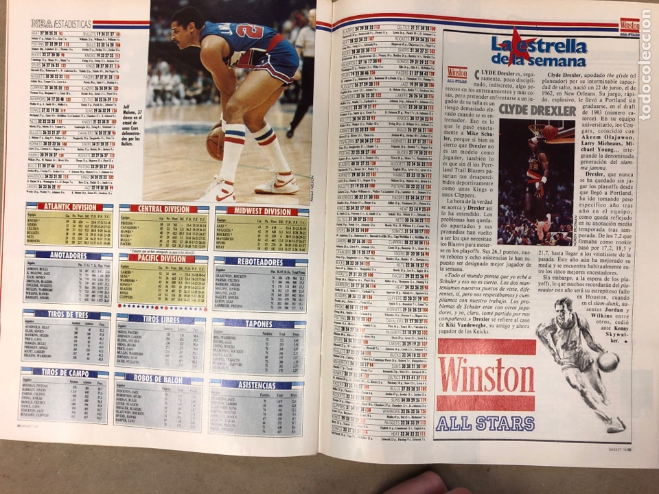 Coleccionismo deportivo: BASKET 16 N° 80 (1989). MIKE TYSON Vs MAGIC JOHNSON, KUKOC, SIBILIO,.. - Foto 5 - 149501432