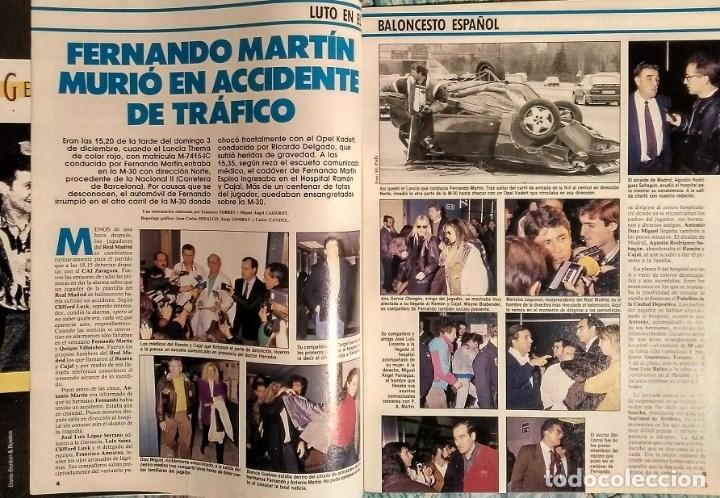 Coleccionismo deportivo: Fernando Martín - Coleccionable de Gigantes (2000) + Muerte (1989) + otras - Foto 16 - 130140043