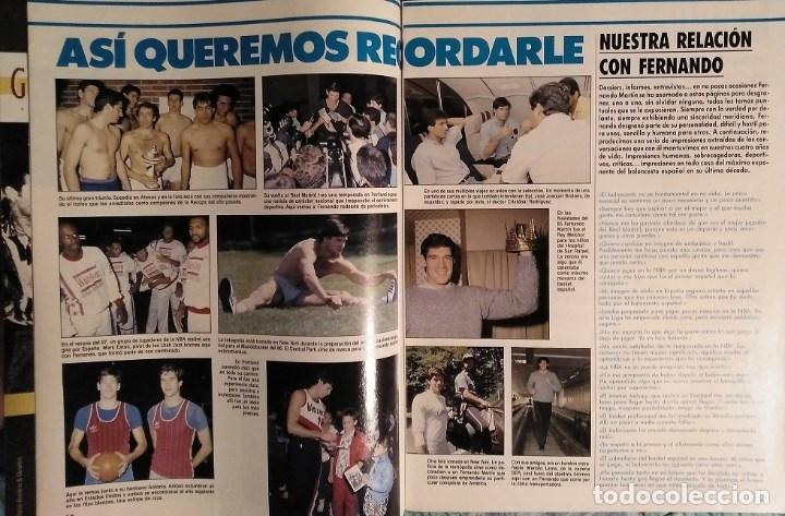 Coleccionismo deportivo: Fernando Martín - Coleccionable de Gigantes (2000) + Muerte (1989) + otras - Foto 17 - 130140043