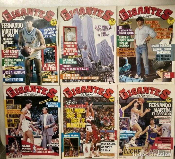 Coleccionismo deportivo: Fernando Martín - Coleccionable de Gigantes (2000) + Muerte (1989) + otras - Foto 18 - 130140043