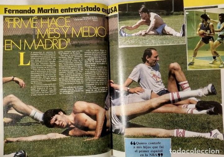 Coleccionismo deportivo: Fernando Martín - Coleccionable de Gigantes (2000) + Muerte (1989) + otras - Foto 20 - 130140043