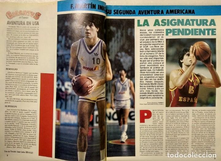 Coleccionismo deportivo: Fernando Martín - Coleccionable de Gigantes (2000) + Muerte (1989) + otras - Foto 21 - 130140043