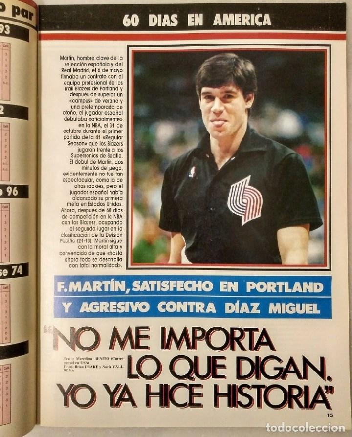 Coleccionismo deportivo: Fernando Martín - Coleccionable de Gigantes (2000) + Muerte (1989) + otras - Foto 23 - 130140043