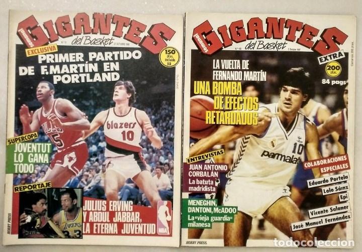 Coleccionismo deportivo: Fernando Martín - Coleccionable de Gigantes (2000) + Muerte (1989) + otras - Foto 26 - 130140043