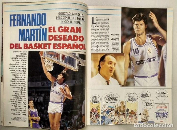 Coleccionismo deportivo: Fernando Martín - Coleccionable de Gigantes (2000) + Muerte (1989) + otras - Foto 25 - 130140043