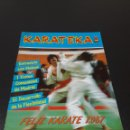 Coleccionismo deportivo: REVISTA KARATEKA. N° 10. DICIEMBRE 1986.. Lote 149804342