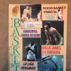 Coleccionismo deportivo: REVISTA NUEVO BASKET N° 139 (1985). OSO PINONE, MANUTE BOL, POSTER JOSÉ LUIS LLORENTE,... Lote 149816652