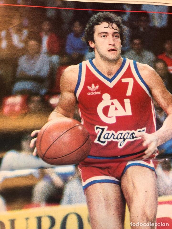 Coleccionismo deportivo: REVISTA NUEVO BASKET N° 139 (1985). OSO PINONE, MANUTE BOL, POSTER JOSÉ LUIS LLORENTE,.. - Foto 10 - 149816652