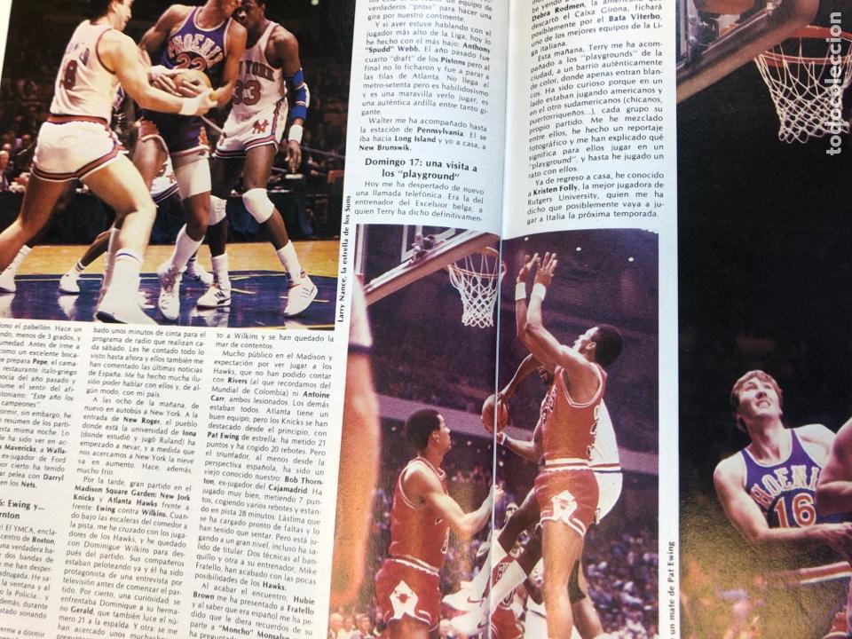 Coleccionismo deportivo: REVISTA NUEVO BASKET N° 139 (1985). OSO PINONE, MANUTE BOL, POSTER JOSÉ LUIS LLORENTE,.. - Foto 12 - 149816652
