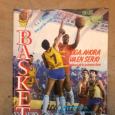 Coleccionismo deportivo: NUEVO BASKET N° 140 (1986). JOAN CREUS, PLAYGROUNDS USA, POSTER DAVE RUSSELL,... Lote 149817164