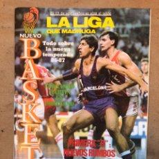 Coleccionismo deportivo: NUEVO BASKET N° 148 (1986). FERNANDO MARTÍN EN PORTLAND,LIGA 86/87, POSTER DAVE RUSSELL (ESTUDIANTES. Lote 149818922