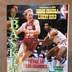 Coleccionismo deportivo: NUEVO BASKET N° 150 (1986). NBA (LARRY BIRD), BARCELONA '92, POSTER JORDI VILLACAMPA,... Lote 149819501