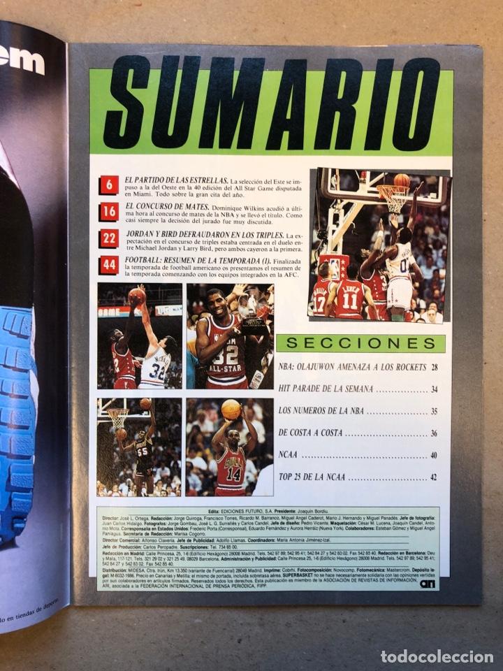 Coleccionismo deportivo: SÚPER BASKER N° 20 (1990). ESPECIAL ALL STAR MIAMI '90, POSTER EWING,.. - Foto 2 - 149930292