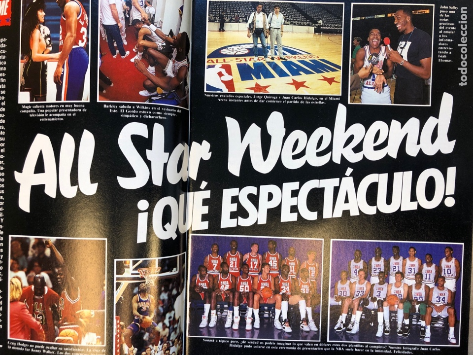 Coleccionismo deportivo: SÚPER BASKER N° 20 (1990). ESPECIAL ALL STAR MIAMI '90, POSTER EWING,.. - Foto 3 - 149930292