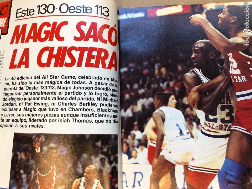 Coleccionismo deportivo: SÚPER BASKER N° 20 (1990). ESPECIAL ALL STAR MIAMI '90, POSTER EWING,.. - Foto 4 - 149930292