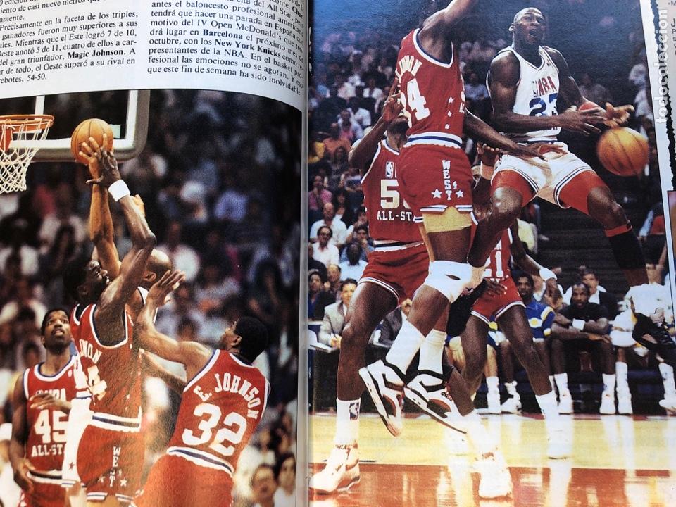 Coleccionismo deportivo: SÚPER BASKER N° 20 (1990). ESPECIAL ALL STAR MIAMI '90, POSTER EWING,.. - Foto 5 - 149930292