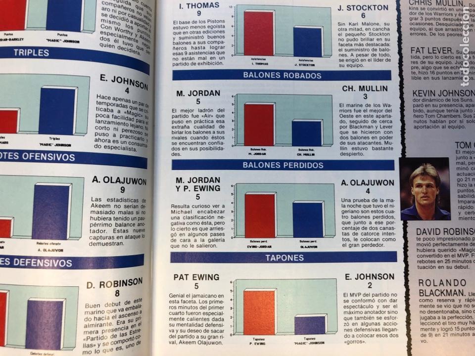 Coleccionismo deportivo: SÚPER BASKER N° 20 (1990). ESPECIAL ALL STAR MIAMI '90, POSTER EWING,.. - Foto 6 - 149930292