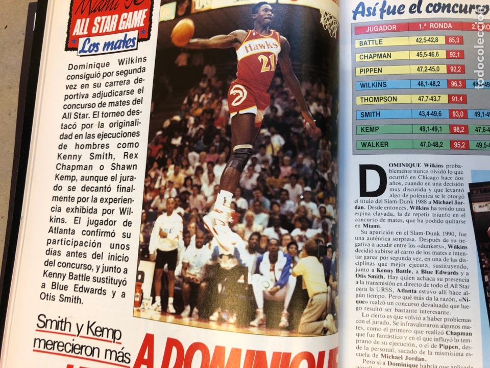 Coleccionismo deportivo: SÚPER BASKER N° 20 (1990). ESPECIAL ALL STAR MIAMI '90, POSTER EWING,.. - Foto 7 - 149930292