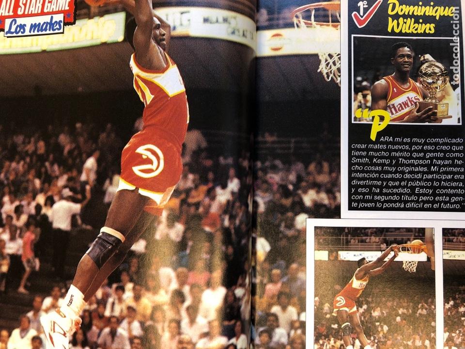 Coleccionismo deportivo: SÚPER BASKER N° 20 (1990). ESPECIAL ALL STAR MIAMI '90, POSTER EWING,.. - Foto 8 - 149930292