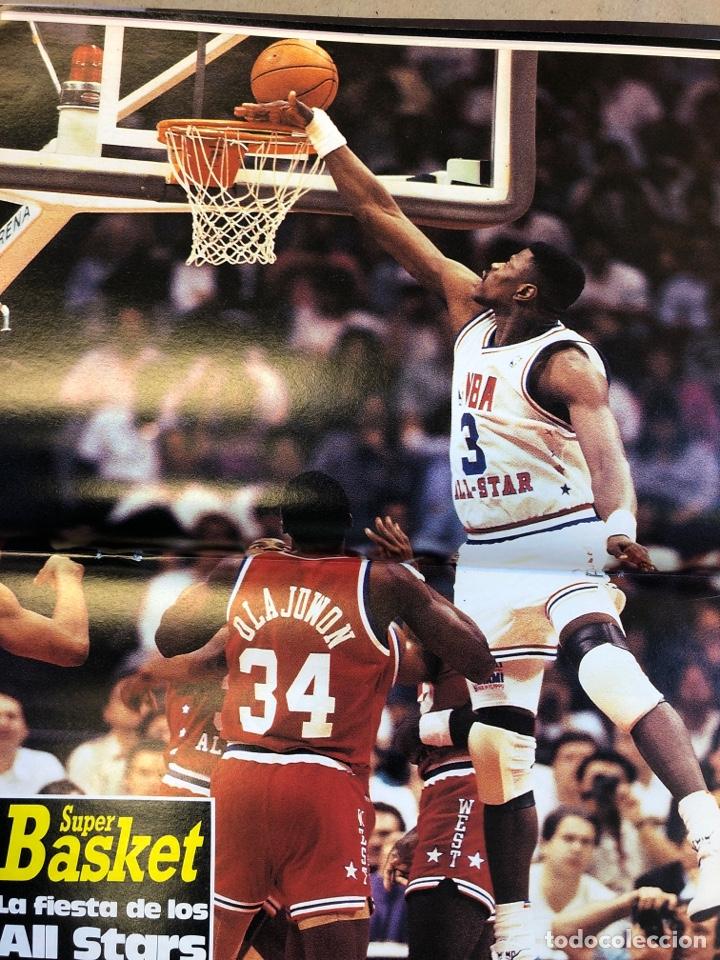 Coleccionismo deportivo: SÚPER BASKER N° 20 (1990). ESPECIAL ALL STAR MIAMI '90, POSTER EWING,.. - Foto 10 - 149930292