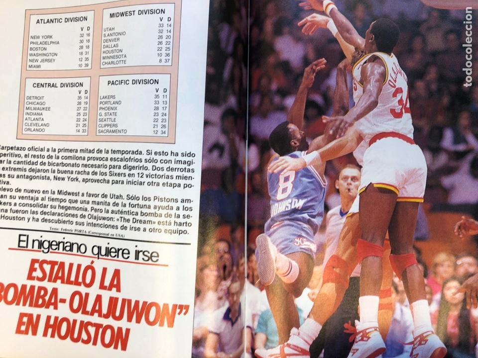 Coleccionismo deportivo: SÚPER BASKER N° 20 (1990). ESPECIAL ALL STAR MIAMI '90, POSTER EWING,.. - Foto 11 - 149930292