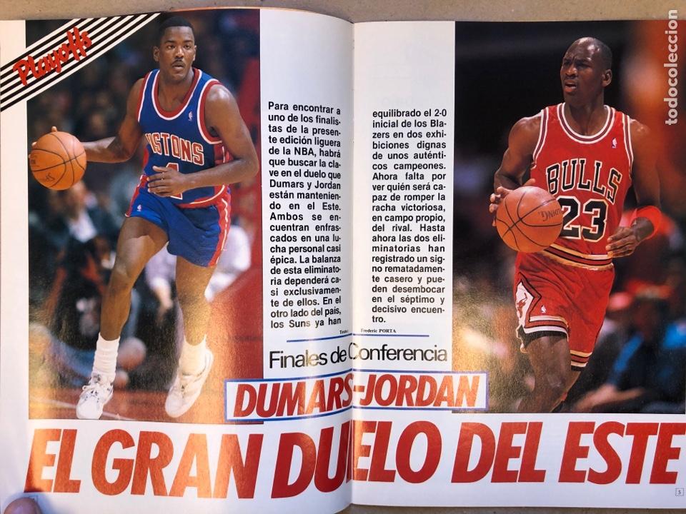 Coleccionismo deportivo: SÚPER BASKET N° 35 (1990). MAGIC JOHNSON MSITRR MVP, DRAFT, MUNDOBASKET, POSTER CRAIG EHLO,... - Foto 3 - 149942892