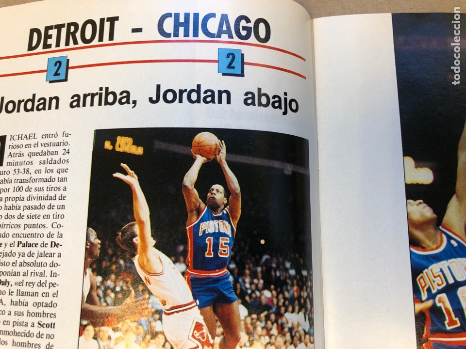 Coleccionismo deportivo: SÚPER BASKET N° 35 (1990). MAGIC JOHNSON MSITRR MVP, DRAFT, MUNDOBASKET, POSTER CRAIG EHLO,... - Foto 4 - 149942892