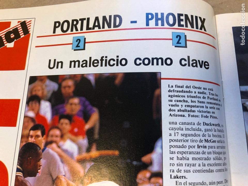 Coleccionismo deportivo: SÚPER BASKET N° 35 (1990). MAGIC JOHNSON MSITRR MVP, DRAFT, MUNDOBASKET, POSTER CRAIG EHLO,... - Foto 5 - 149942892