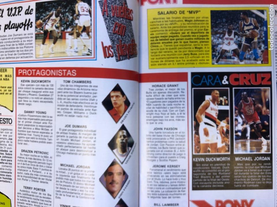 Coleccionismo deportivo: SÚPER BASKET N° 35 (1990). MAGIC JOHNSON MSITRR MVP, DRAFT, MUNDOBASKET, POSTER CRAIG EHLO,... - Foto 6 - 149942892