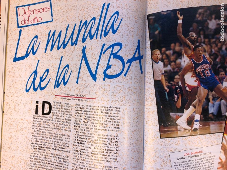 Coleccionismo deportivo: SÚPER BASKET N° 35 (1990). MAGIC JOHNSON MSITRR MVP, DRAFT, MUNDOBASKET, POSTER CRAIG EHLO,... - Foto 7 - 149942892