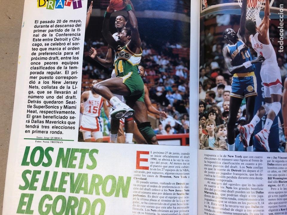 Coleccionismo deportivo: SÚPER BASKET N° 35 (1990). MAGIC JOHNSON MSITRR MVP, DRAFT, MUNDOBASKET, POSTER CRAIG EHLO,... - Foto 10 - 149942892