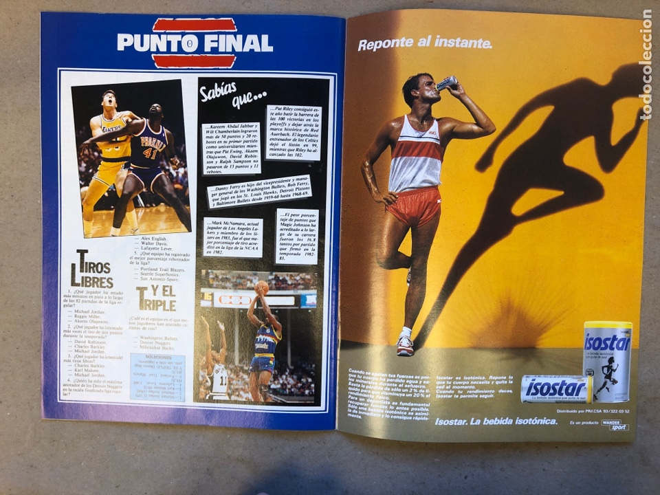 Coleccionismo deportivo: SÚPER BASKET N° 35 (1990). MAGIC JOHNSON MSITRR MVP, DRAFT, MUNDOBASKET, POSTER CRAIG EHLO,... - Foto 11 - 149942892