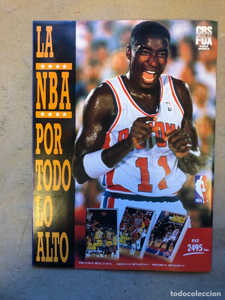 Coleccionismo deportivo: SÚPER BASKET N° 35 (1990). MAGIC JOHNSON MSITRR MVP, DRAFT, MUNDOBASKET, POSTER CRAIG EHLO,... - Foto 12 - 149942892