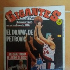 Coleccionismo deportivo: REVISTA GIGANTES DEL BASKET. Nº263. DRAZEN PETROVIC.. Lote 149979050