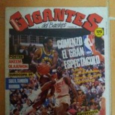 Coleccionismo deportivo: REVISTA GIGANTES DEL BASKET. NOVIEMBRE 1987. Lote 149979378