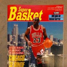 Coleccionismo deportivo: SUPER BASKET N° 85 (1991). FINAL BULLS - LAKERS, POSTER MICHAEL JORDAN, .... Lote 149981121