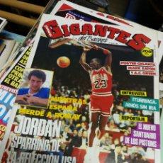 Coleccionismo deportivo: REVISTA GIGANTES DEL BASKET- PORTADA MICHAEL JORDAN, N°146, 1988.. Lote 150680760
