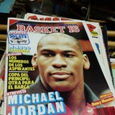 Coleccionismo deportivo: REVISTA ESTRELLAS DEL BASKET 16- PORTADA MICHAEL JORDAN, N°29- 1988.. Lote 150680990