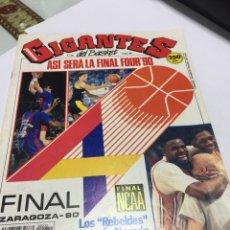 Coleccionismo deportivo: REVISTA GIGANTES DEL BASKET NÚMERO 232 1990. Lote 150759085